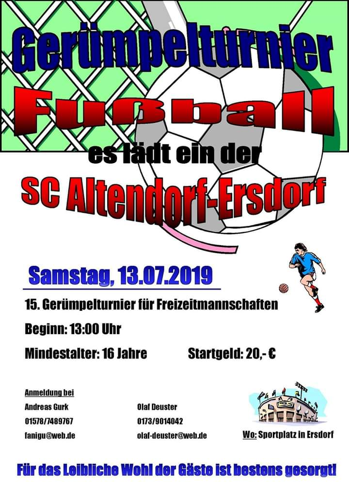 Gerümpelturnier SC Altendorf Ersdorf